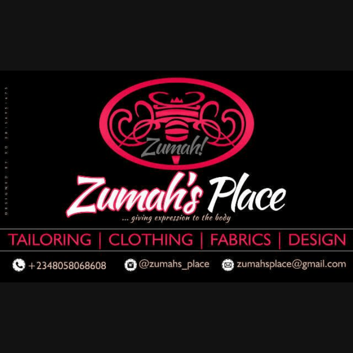 Zumah's Place Fashion Design