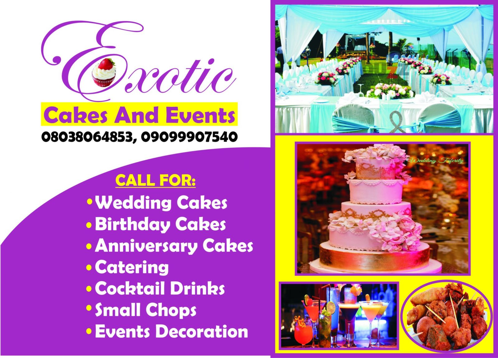 Exotic temmy Cakes and More